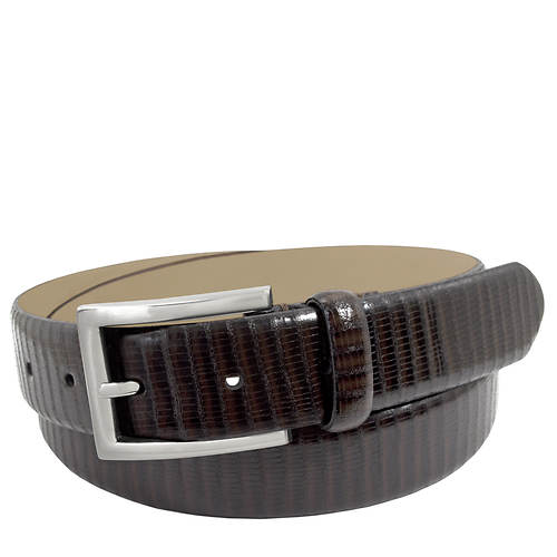 Stacy Adams Leather Lizzard 32mm Belt