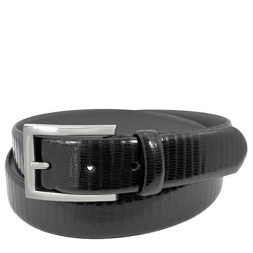 Stacy Adams Leather Lizzard 32mm Belt