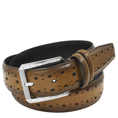 Stacy Adams Metcalf 34mm Brogue Belt
