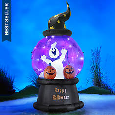 7' Inflatable Halloween Globe