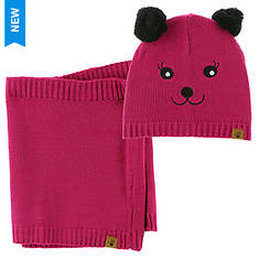 BEARPAW Bear Youth Hat and Scarf Set (Girls')