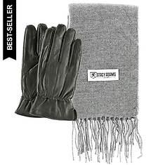 Stacy Adams Glove & Scarf Gift Set (Men's)