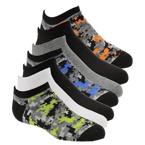 Stride Rite Boys' 7-Pack Caleb No Show Socks