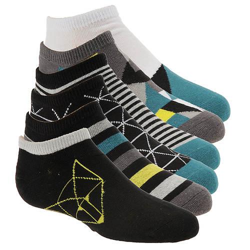 Stride Rite Boys' 6-Pack Grayson No Show Socks