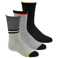 Stride Rite Boys' 3-Pack Peter Crew Socks