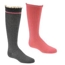 Stride Rite Girls' 2-Pack Robin Knee High Socks