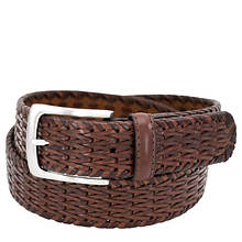 Florsheim 34MM Woven Leather Belt