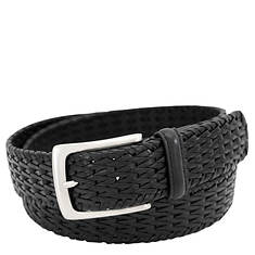 Florsheim 34MM Woven Leather Belt