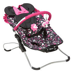 Disney Minnie Mouse Snug-Fit Folding Bouncer
