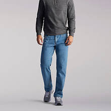 Lee Jeans Men's Regular Fit Straight Leg Jean