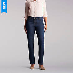 Lee Jeans Women's Relaxed Fit Straight Leg