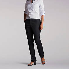 Lee Jeans Women's Straight Fit Essential Chino