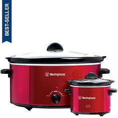 Westinghouse 8-Quart Slow Cooker & Bonus Mini Warmer