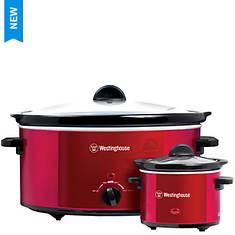 Westinghouse 8-Quart Slow Cooker & Bonus Mini Warmer