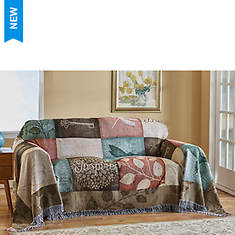 Woven Tapestry Loveseat Cover