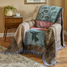 Woven Tapestry Chair Cover