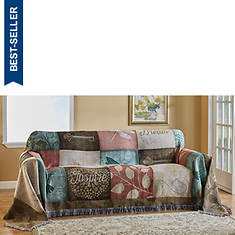 Woven Tapestry Sofa Cover