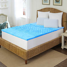 Arctic Sleep by Pure Rest 5-Zone Gel Memory Foam Topper