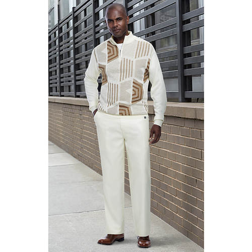 Stacy Adams Men's Honeycomb Knit Set