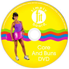 Simply Fit Core & Buns Workout DVD