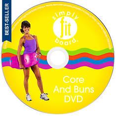 Simply Fit Core & Buns Workout DVD