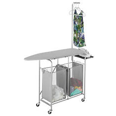 Collapsible Ironing & Laundry Center