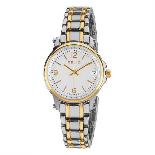 Relic Matilda 2-Tone Bracelet Watch