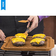 Gotham Steel Reversible Grill/Griddle Pan