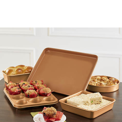 Gotham Steel 5-Piece Bakeware Set