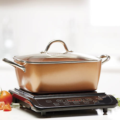 Copper Chef Induction Cooktop Set With 11