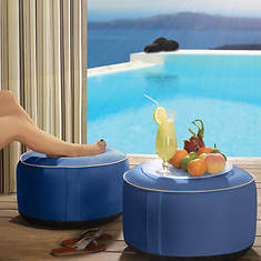 Outdoor Decor Splash 'n Dash Inflatable Pouf