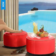 Outdoor Decor Splash 'n Dash Inflatable Pouf