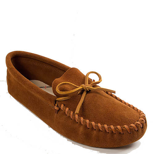 Minnetonka Leather Laced Softsole (Men's)