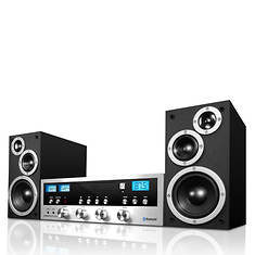 Innovative Technology Classic CD Stereo with Bluetooth