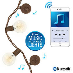 Bright Tunes Globe String Lights with Bluetooth Speakers