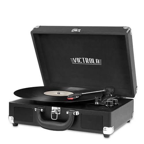 Victrola Bluetooth Suitcase 3-Speed Turntable