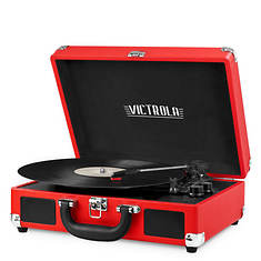 Victrola Bluetooth Suitcase 3-Speed Turntable