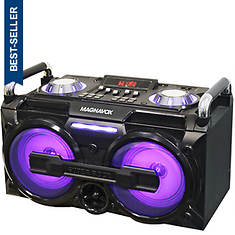 Magnavox Light-Up Wireless Boombox