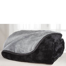 All-Seasons Reversible Plush Microfiber Blanket