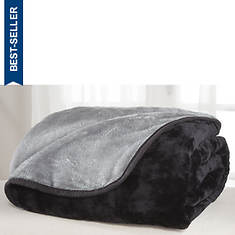 All Seasons Reversible Plush Microfiber Blanket