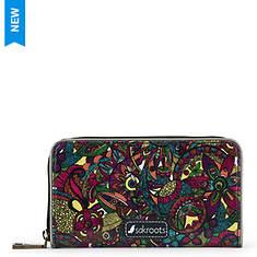 Sakroots Artist Circle Large Zip Wallet