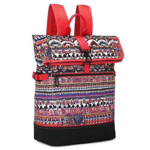 Sakroots Explorer Roll Top Backpack