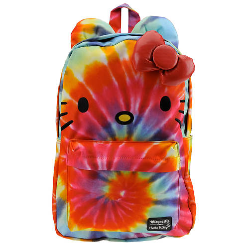 Loungefly Hello Kitty Rainbow Tie Dye Backpack