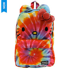 Loungefly Hello Kitty Rainbow Tie Dye Backpack