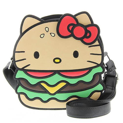 Loungefly Hello Kitty Hamburger Crossbody Bag