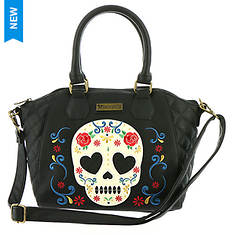 Loungefly Sugar Skull Rose Tote Bag