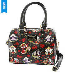 Loungefly Disney Villians Roses Tattoo Crossbody Bag