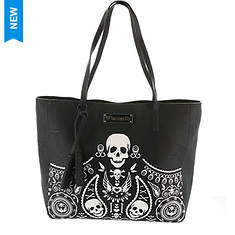 Loungefly Sugar Skull Tote Bag