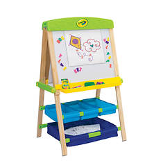 Grow'n Up Draw 'N Store Wood Easel