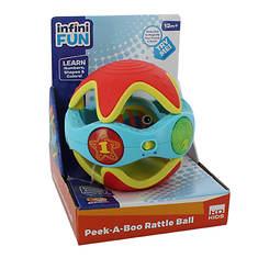 Kidz Delight Fun Peek-a-Boo Rattle Ball